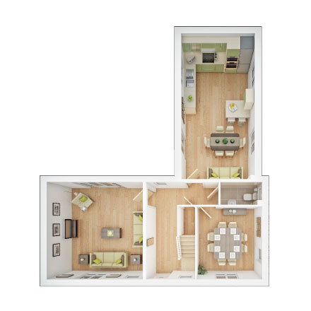 Langdale ground floor plan
